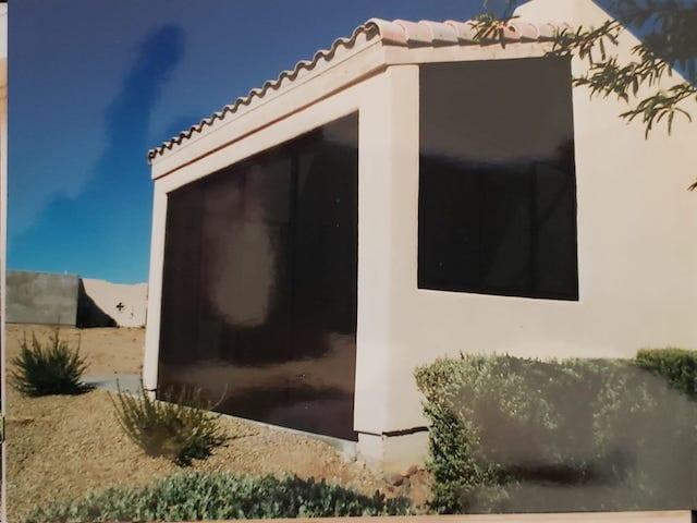 solar screen exterior