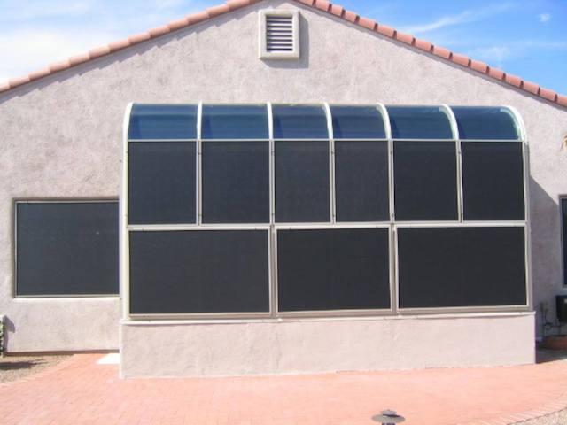 solar screen frame